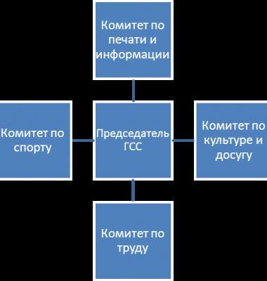 Структура ГСС